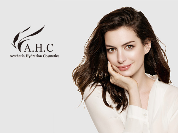 Hand in hand with AHC to create the first brand of beauty